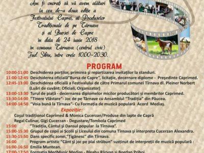 """Festivalul Caprei, Al """"Produselor Tradiţionale De Pe Târnave"""" și """"Bursa De Capre"""""""
