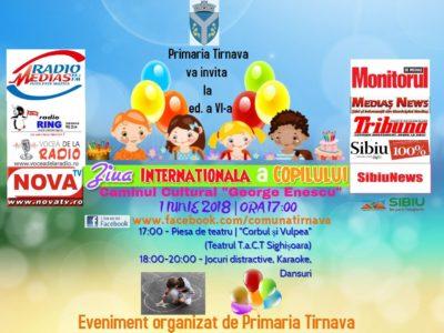 Localitatea Tîrnava Marchează Ziua Internațională A Copilului